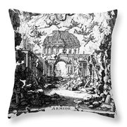 Lully: Armide, 1686 Throw Pillow