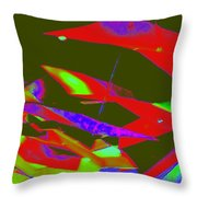 Luluminous 5 Throw Pillow