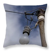 Lumieres Throw Pillow