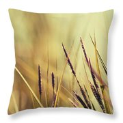 Luminis -s02b - Yellow Throw Pillow