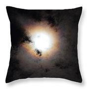 Lunar Enigma Throw Pillow