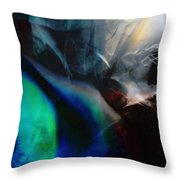 Lunar Radiation Throw Pillow
