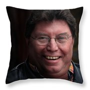 Lunch Is Over Back To Work Throw Pillow