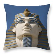 Luxor Sphinx II Throw Pillow