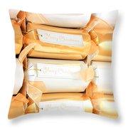 Luxury Christmas Crackers Throw Pillow