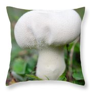 Lycoperdon Throw Pillow