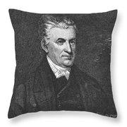 Lyman Beecher (1775-1863) Throw Pillow