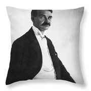 Lyman Frank Baum Throw Pillow