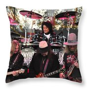 Lynyrd Skynyrd - Matejka - Rossington - Kearns - Cartellone Throw Pillow