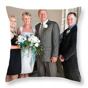 m and J 053 Throw Pillow