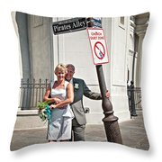 M And J 060 Throw Pillow