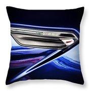 M6 Badge Throw Pillow