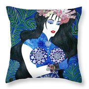 Ma Belle Salope Chinoise No.11 Throw Pillow