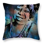 Ma Rainey Throw Pillow