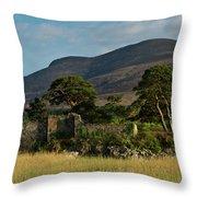 Maccarthy Mor Castle Ireland Throw Pillow