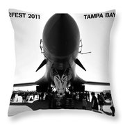 Macdill Airfest  Throw Pillow