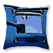 Machine Gun Throw Pillow