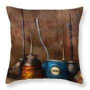 Machinist - Tools - Lubrication Dispensers  Throw Pillow