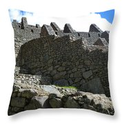 Machu Picchu Peru 12 Throw Pillow
