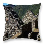 Machu Picchu Peru 8 Throw Pillow