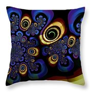 Mad About Brubeck Throw Pillow