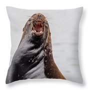 Mad As Hell Throw Pillow