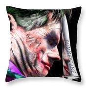 Mad Men Series 2 Of 6 - Romney The Joker Throw Pillow