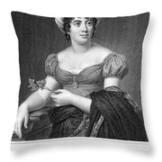 Madame De Sta�l (1766-1817) Throw Pillow