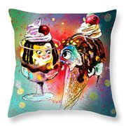 Made For Each Other Throw Pillow