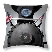 Made In The U S A  Throw Pillow