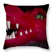 Made Of Ice V6 Throw Pillow