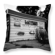 Madeas Soul Food Grill Throw Pillow