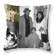 Madge Walker And Her Husband Throw Pillow