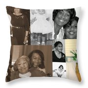 Madge's Daughters Throw Pillow