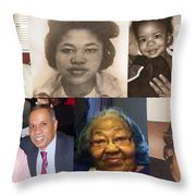 Madgie P Walker Throw Pillow