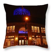 Madison Wi Overture Center Throw Pillow