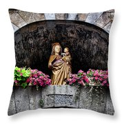 Madonna And Child Arch Throw Pillow