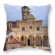 Madonna Del Sasso - Locarno Throw Pillow
