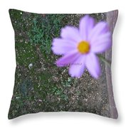 Magic Flower Throw Pillow
