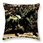 Magic Ride Throw Pillow