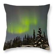 Magic Sky Throw Pillow