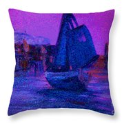 Magic Voyage Throw Pillow