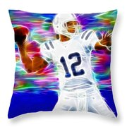 Magical Andrew Luck Throw Pillow