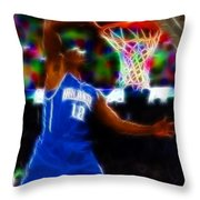 Magical Dwight Howard Throw Pillow by Paul Van Scott