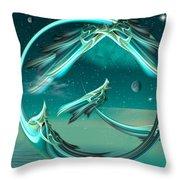 Magical Eve Throw Pillow