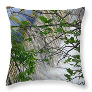 Magical Falls H Throw Pillow