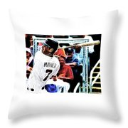 Magical Joe Mauer Throw Pillow