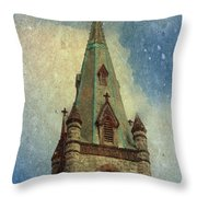 Magical Things Happen Here Throw Pillow