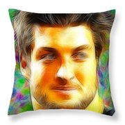 Magical Tim Tebow Face Throw Pillow