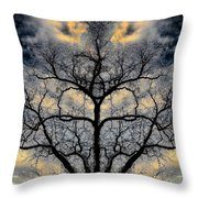 Magical Tree Throw Pillow